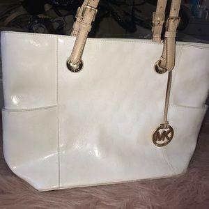 Handbags - Pure white MK Purse